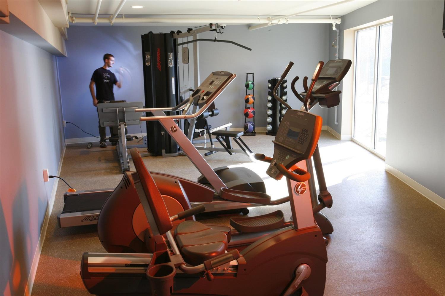 Fitness/ Exercise Room - Lancaster Arts Hotel