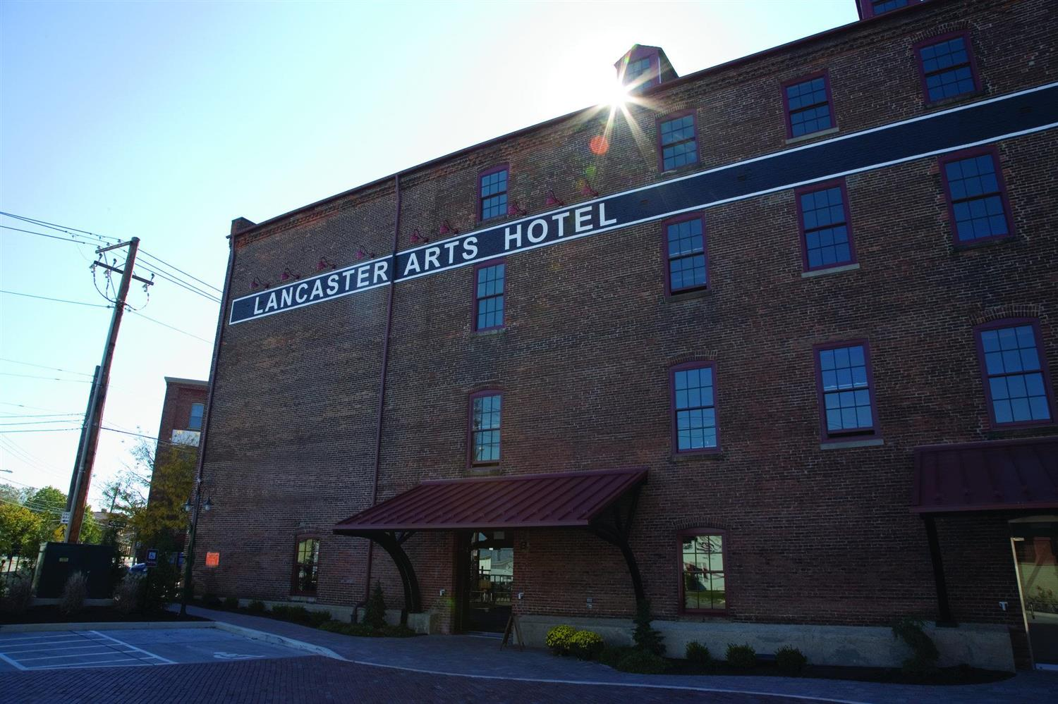 Exterior view - Lancaster Arts Hotel