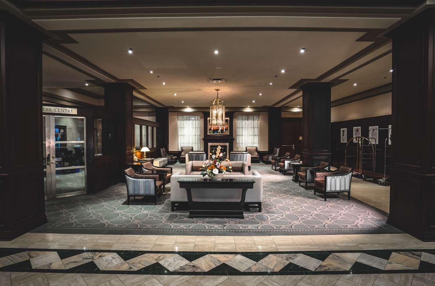 Lobby - Lord Elgin Hotel Ottawa