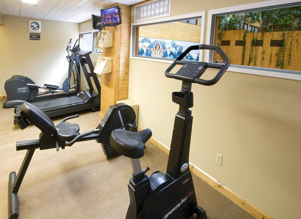 Fitness/ Exercise Room - Sawridge Hotel Jasper