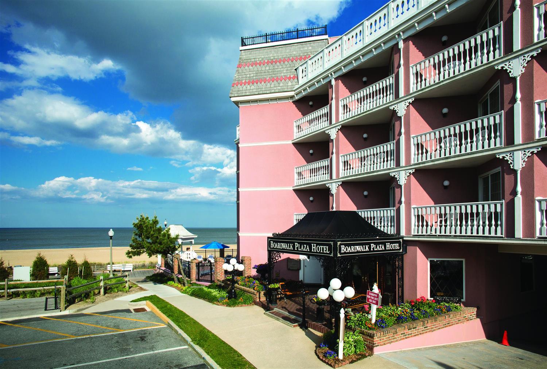 Exterior View Boardwalk Plaza Hotel Rehoboth Beach