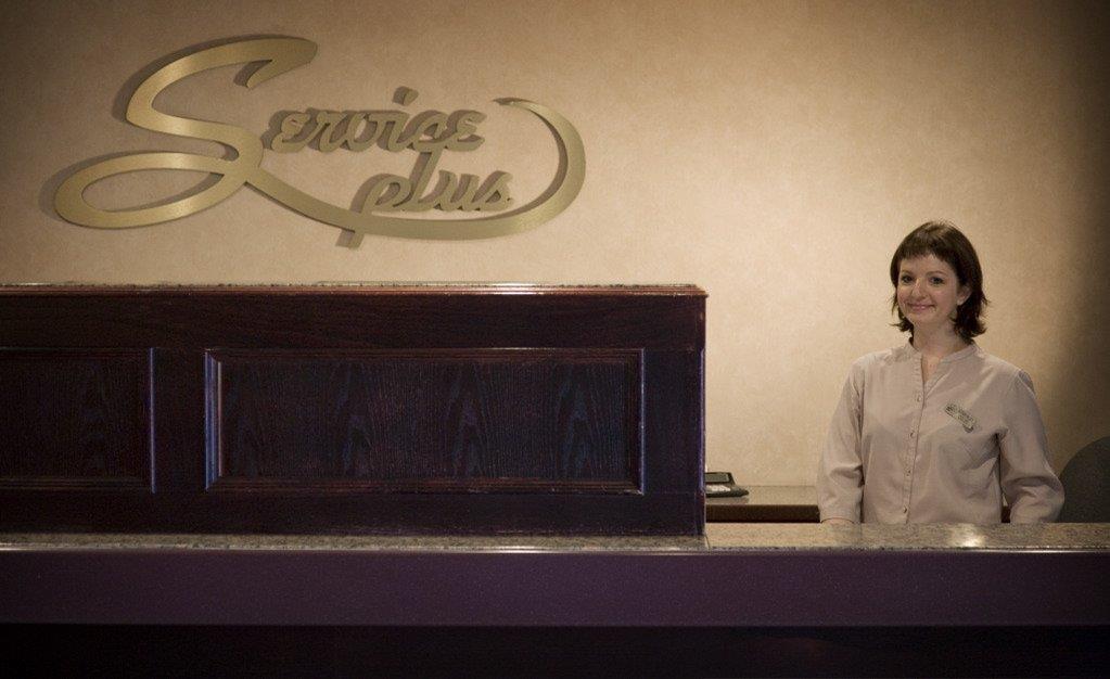 Lobby - Service Plus Inn & Suites Grande Prairie
