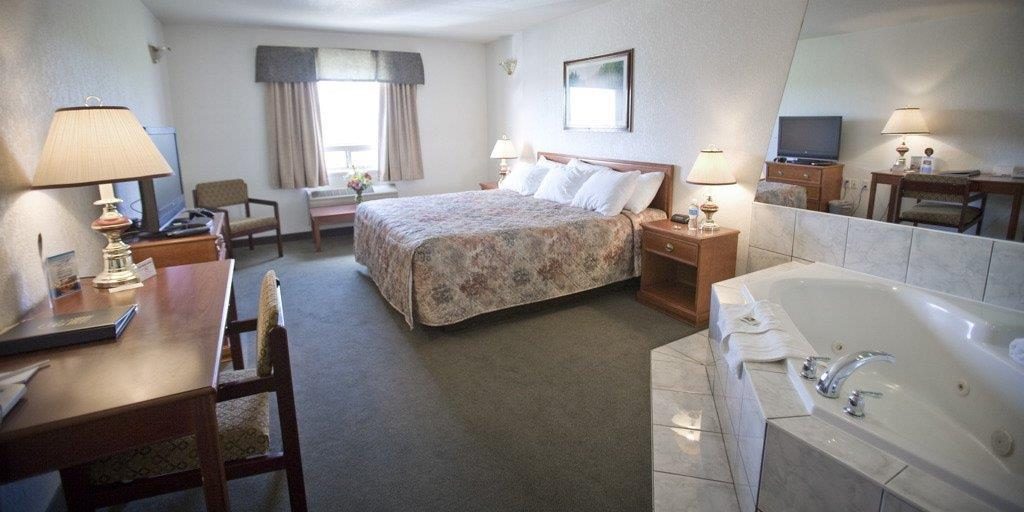 Spa - Service Plus Inn & Suites Grande Prairie