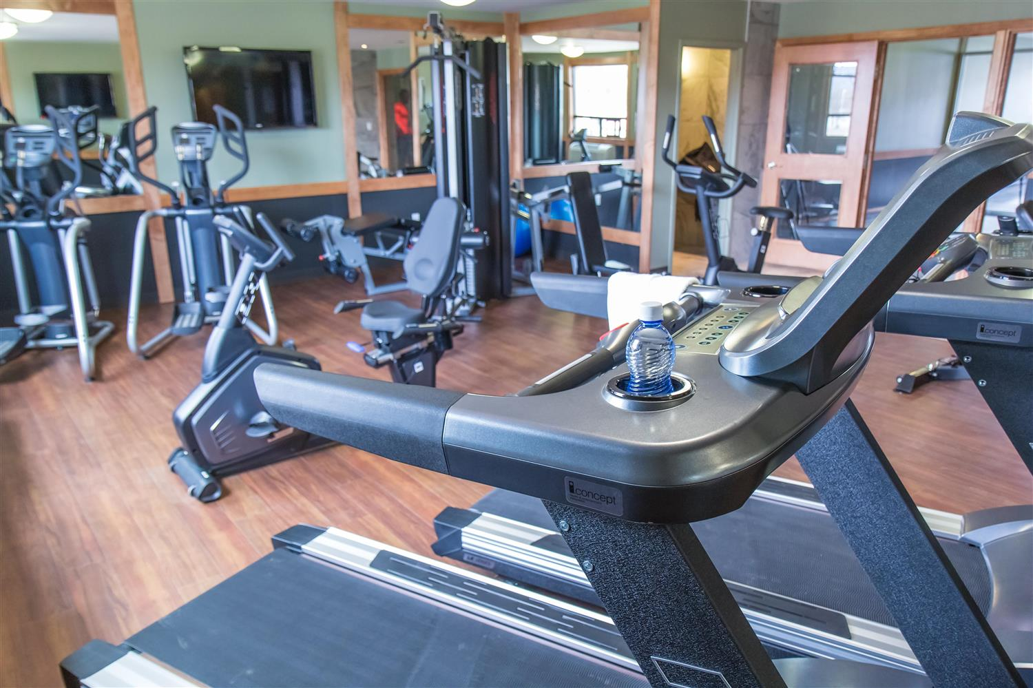 Fitness/ Exercise Room - Sawridge Inn & Conference Centre Peace River