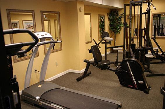 Fitness/ Exercise Room - Ocean Park Resort Myrtle Beach