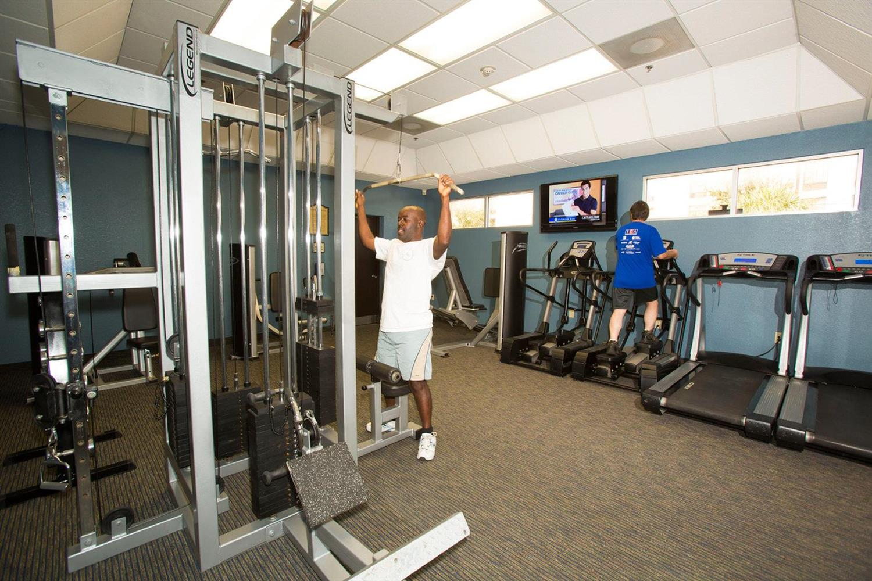 Fitness/ Exercise Room - Rosen Inn International Orlando