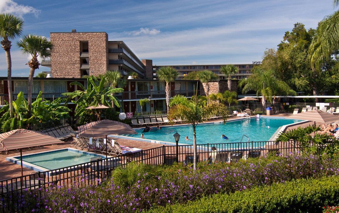 Pool - Rosen Inn International Orlando