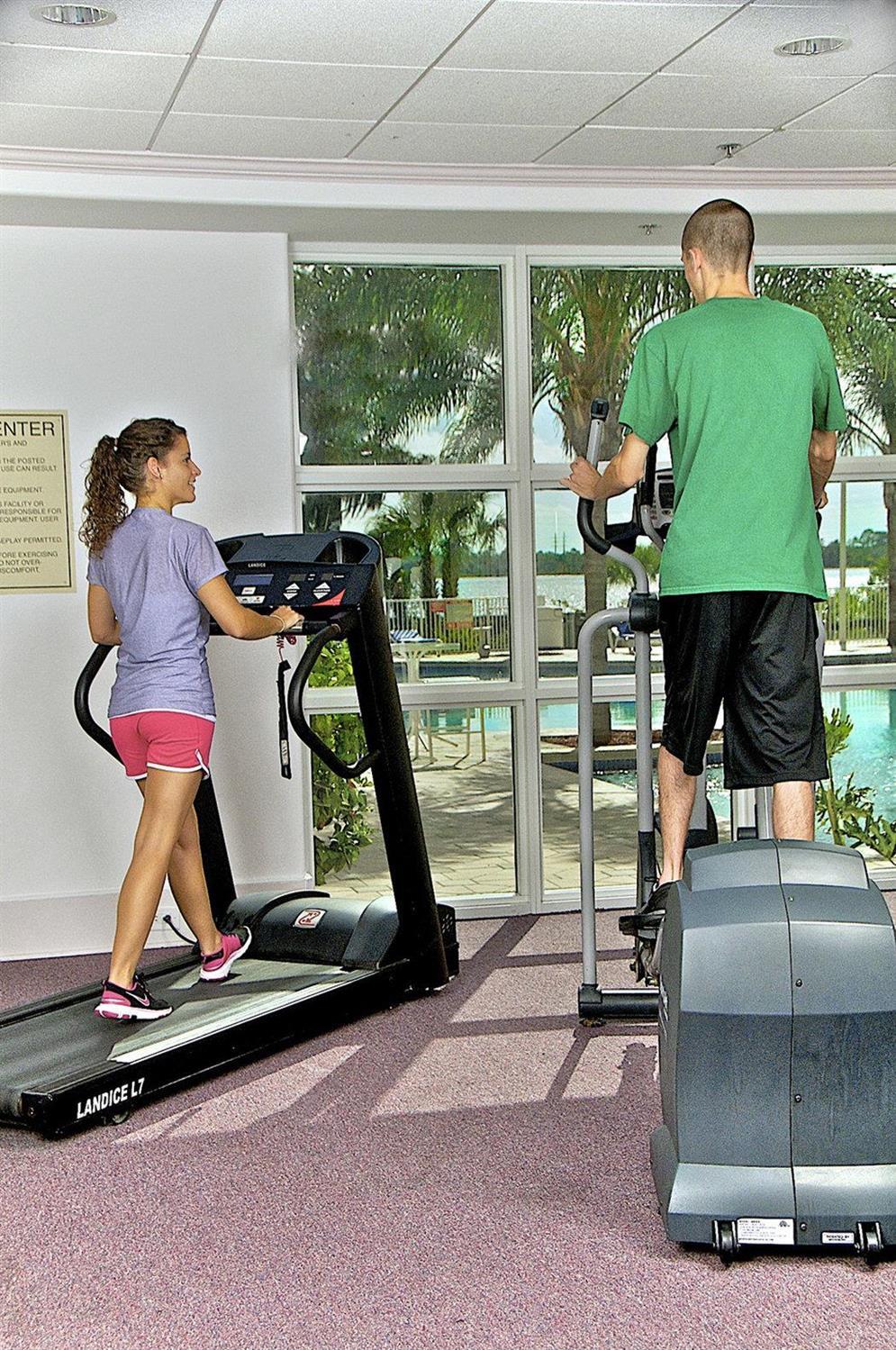 Fitness/ Exercise Room - Blue Heron Beach Resort Lake Buena Vista Orlando