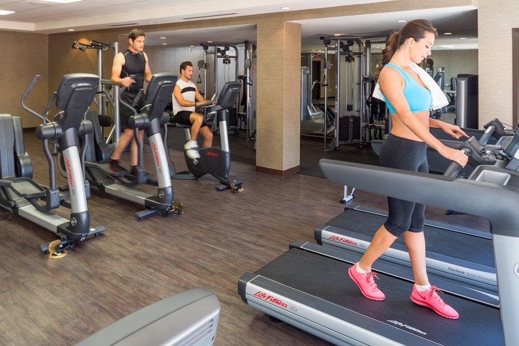 Fitness/ Exercise Room - EB Hotel Miami Springs