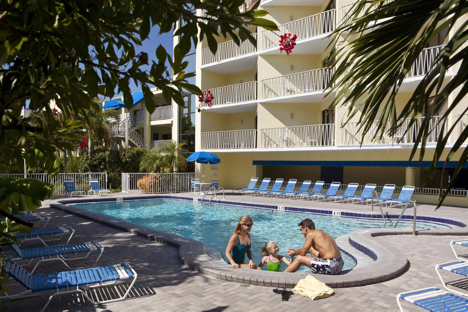 Pool - Alden Suites St Pete Beach