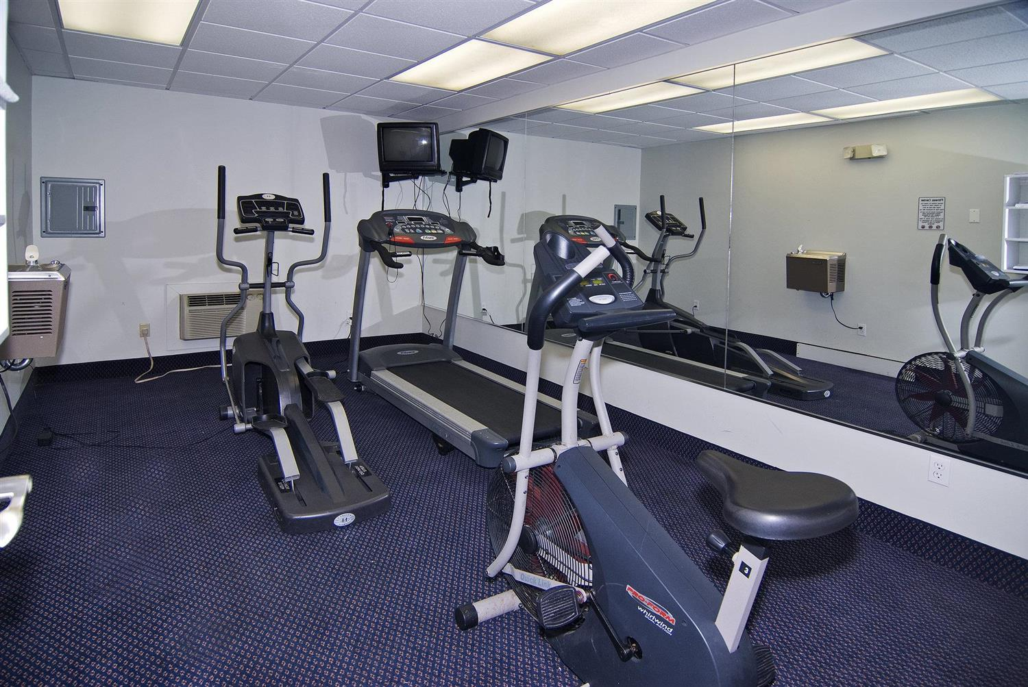 Fitness/ Exercise Room - Beachcomber Beach Resort & Hotel St Pete Beach