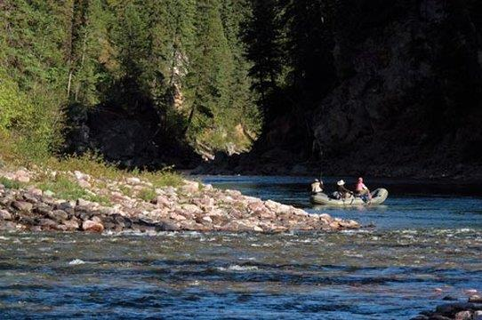Fly Fishing at Paws Up in Montana