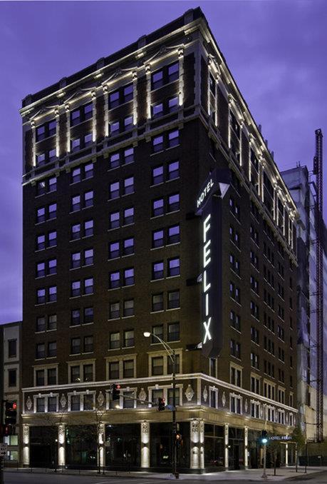 Exterior view - Hotel Felix Chicago