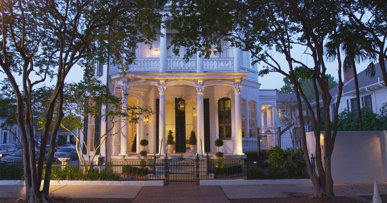 Exterior view - Melrose Mansion New Orleans