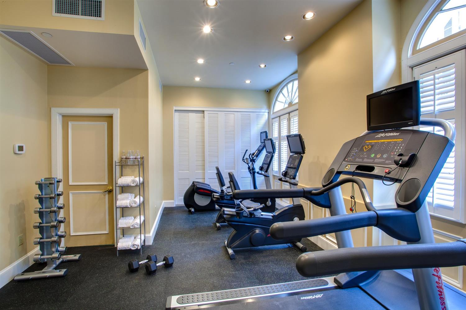 Fitness/ Exercise Room - Hotel Mazarin New Orleans