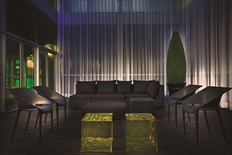 Lobby - Hotel Zero 1 Montreal