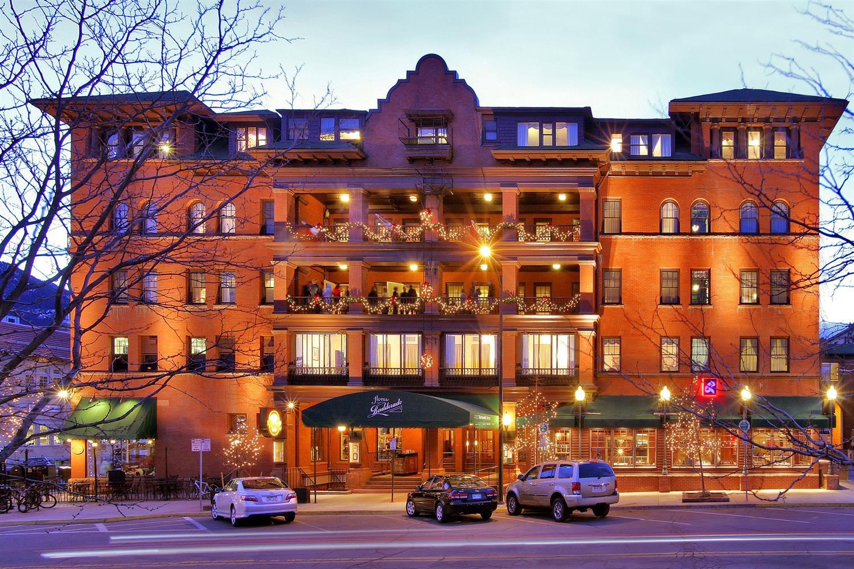 Exterior view - Hotel Boulderado Boulder