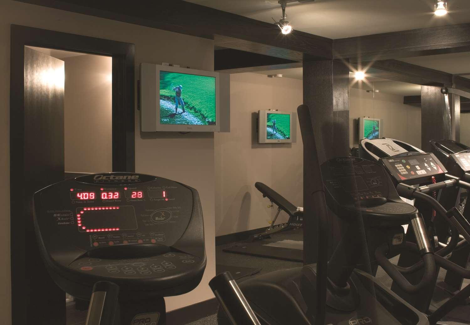 Fitness/ Exercise Room - Hotel Arts Calgary