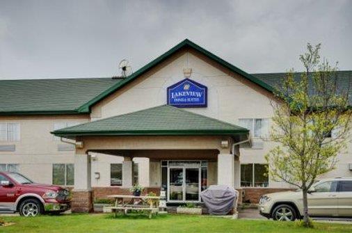 Exterior view - Lakeview Inn & Suites Whitecourt