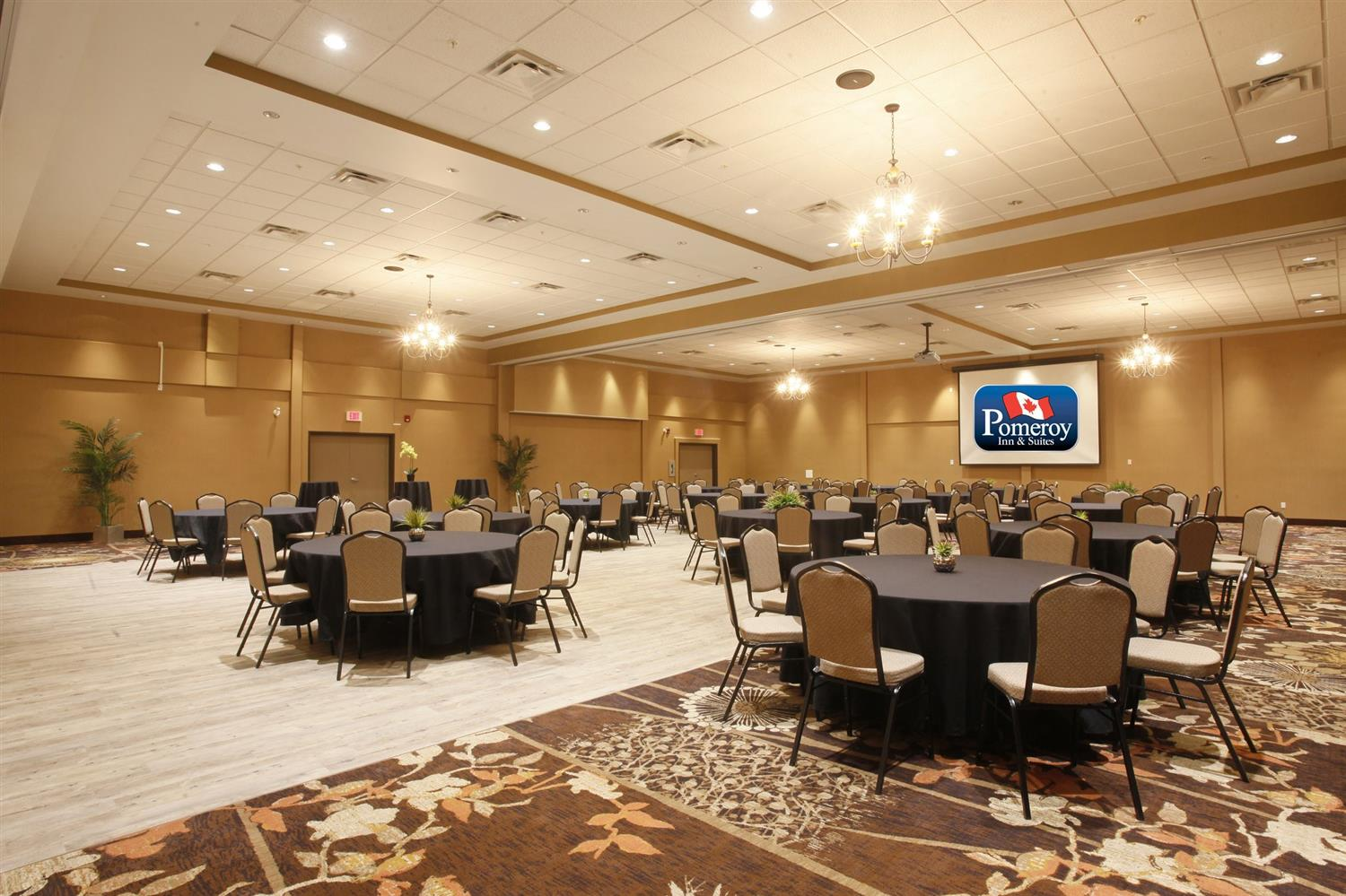 Ballroom - Pomeroy Inn & Suites at Olds College