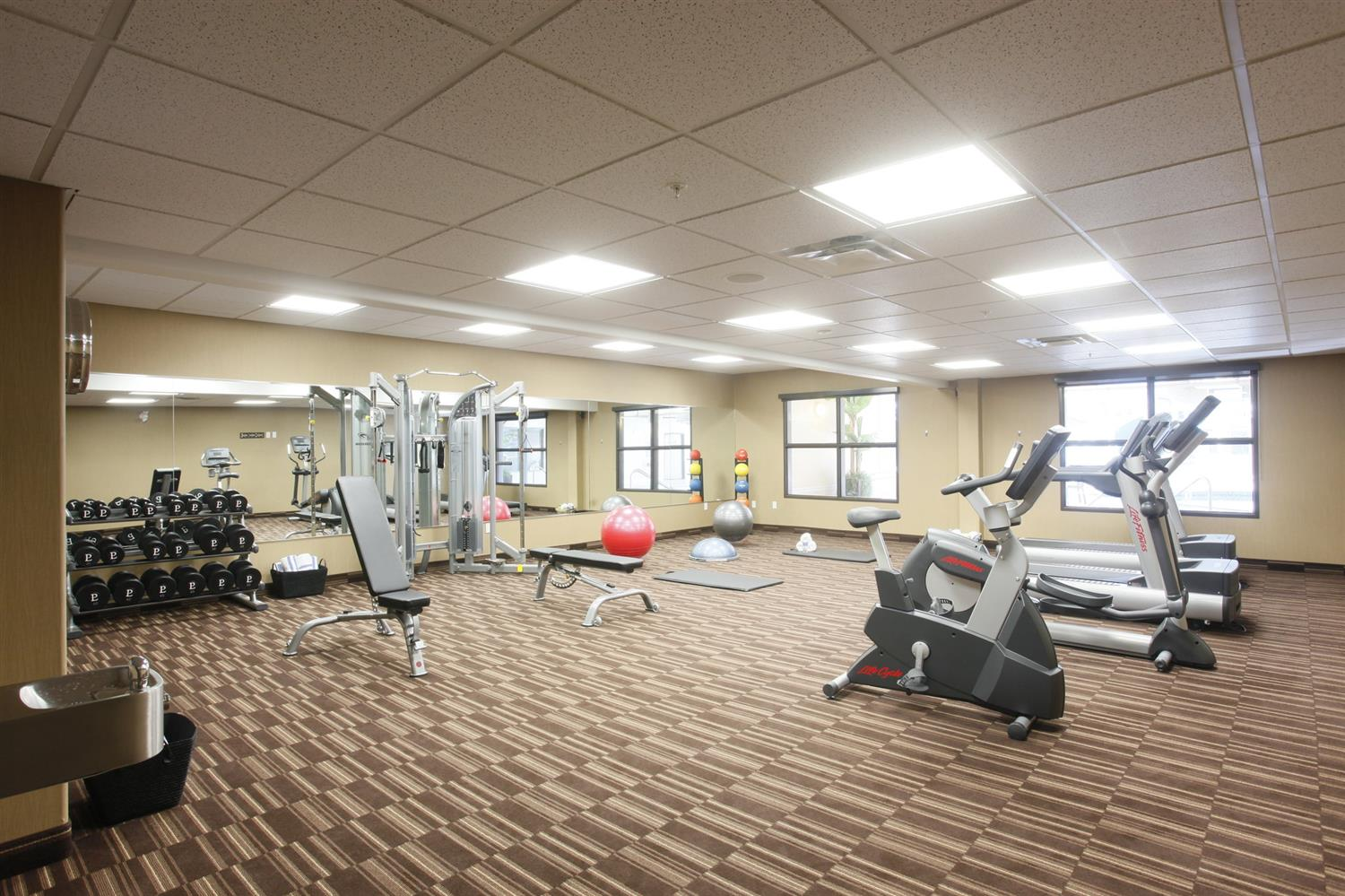 Fitness/ Exercise Room - Pomeroy Inn & Suites at Olds College