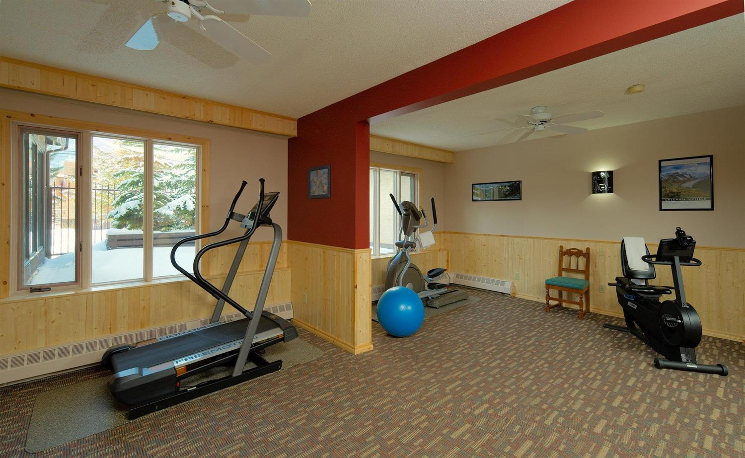 Fitness/ Exercise Room - Elk + Avenue Hotel Banff