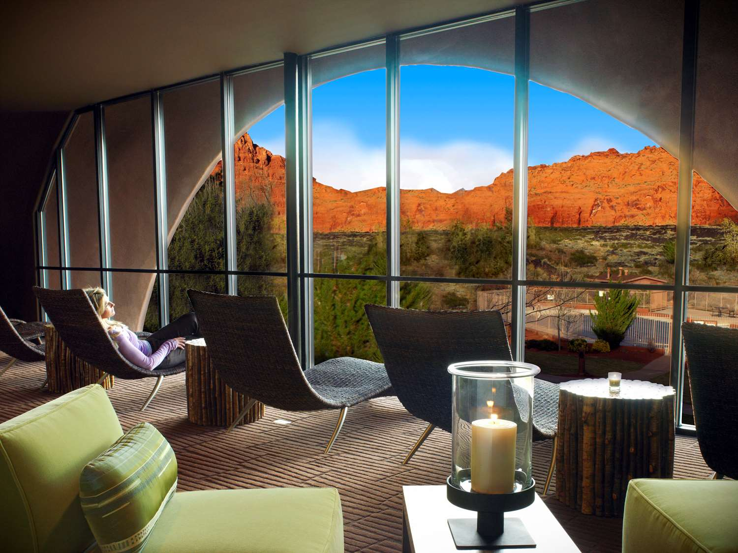 Spa - Red Mountain Resort & Spa Ivins