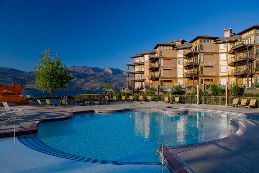Pool - Cove Lakeside Resort Westbank