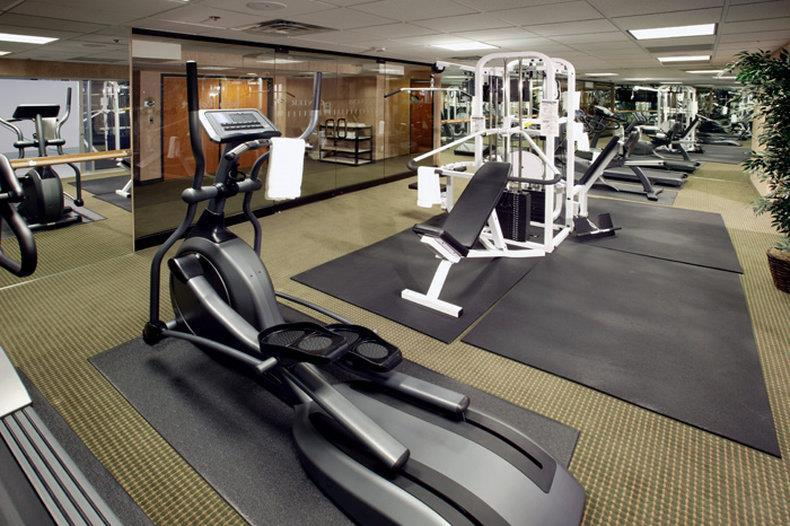 Fitness/ Exercise Room - Royal Vacation Suites Las Vegas