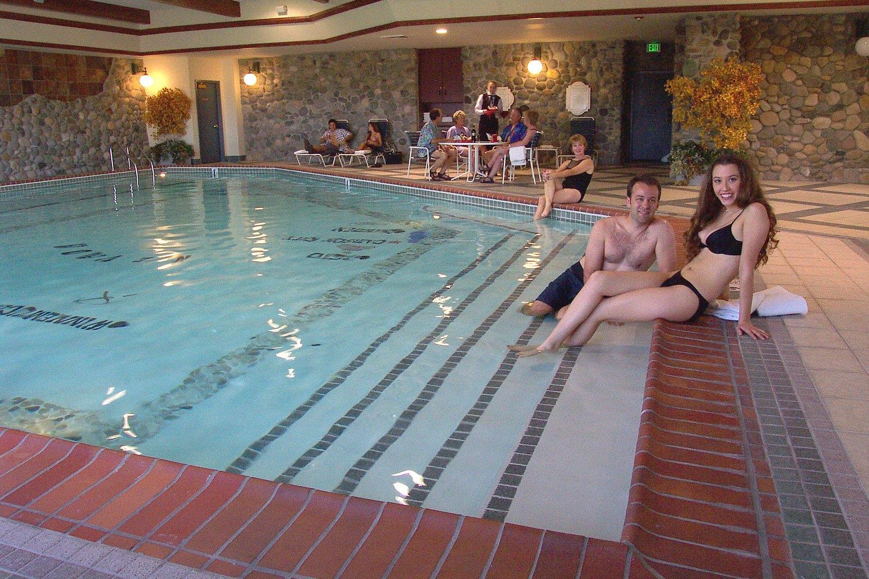 Pool - Carson Valley Inn Minden