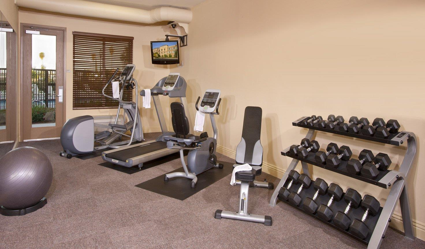 Fitness/ Exercise Room - Ayres Hotel Chino Hills