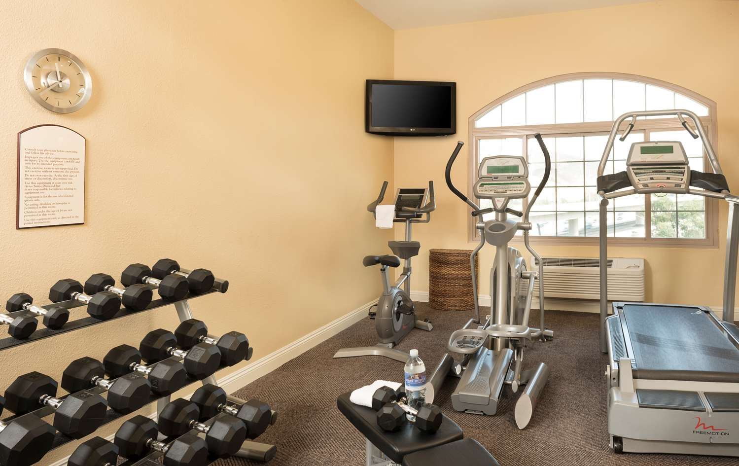Fitness/ Exercise Room - Ayres Suites Diamond Bar