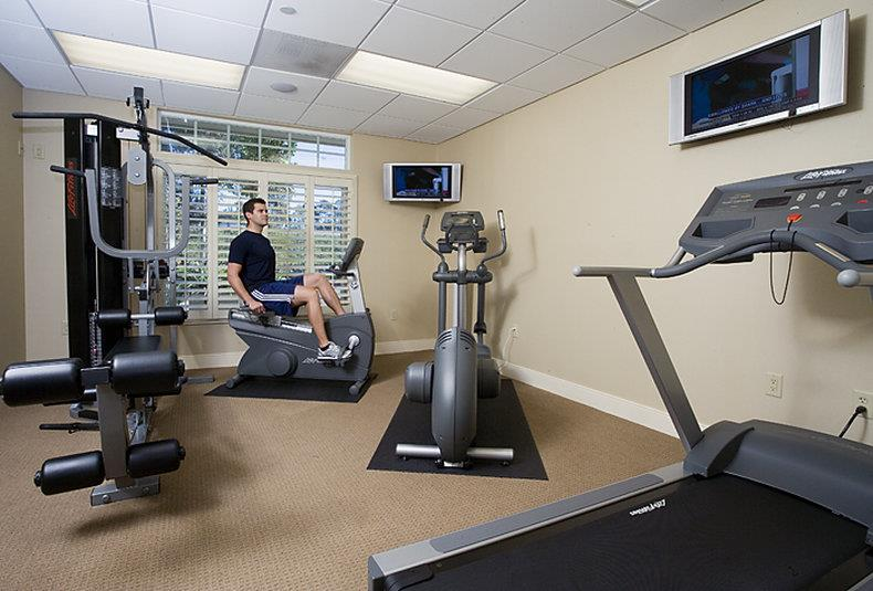 Fitness/ Exercise Room - West Inn & Suites Carlsbad