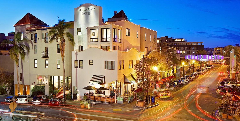 Exterior view - La Pensione Hotel San Diego