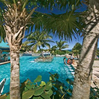 Beach Pool Island