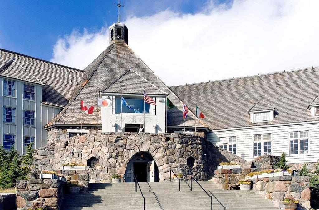 Exterior view - Timberline Lodge Government Camp