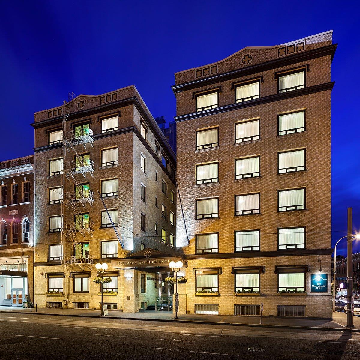 Exterior view - Mark Spencer Hotel Portland