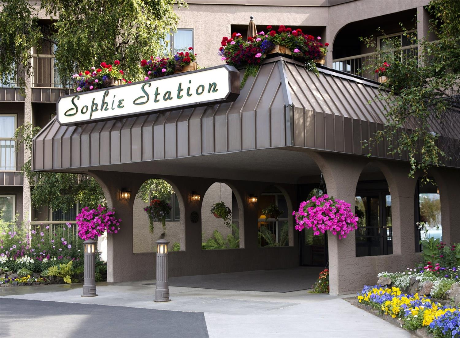 Exterior view - Sophie Station Hotel Fairbanks