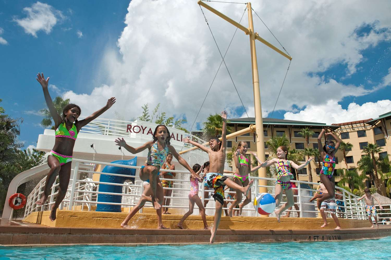 Loews Royal Pacific Resort Lagoon Pool