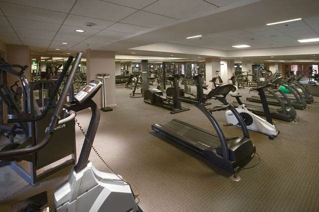 The Gymnasium is the state-of-the-art fitness facility