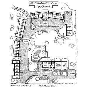 Map - Manchester View Fine Lodging Hotel Manchester Center
