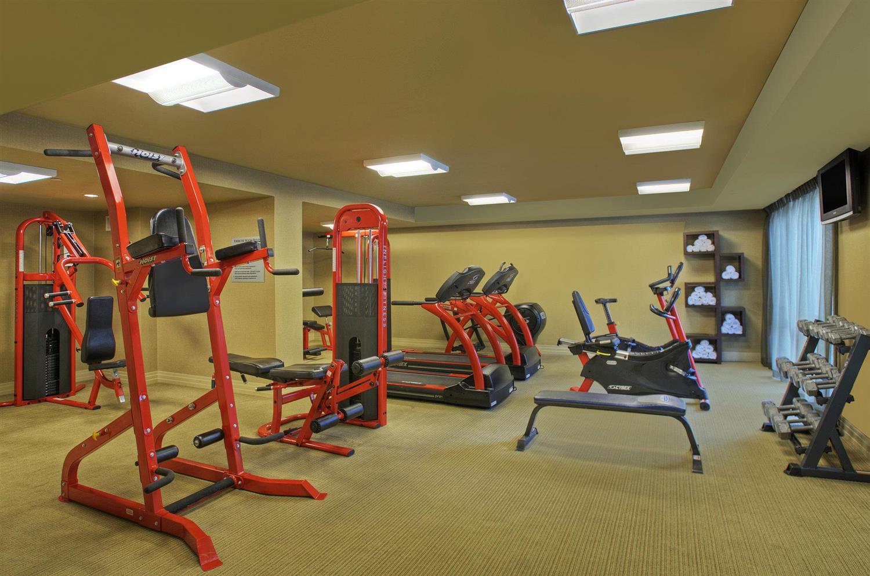 Fitness/ Exercise Room - Heldrich Hotel New Brunswick