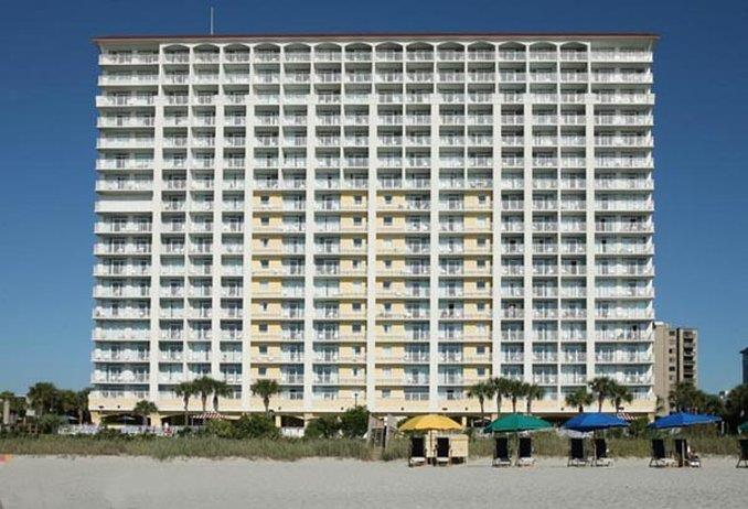 Exterior view - Camelot by the Sea Hotel Myrtle Beach
