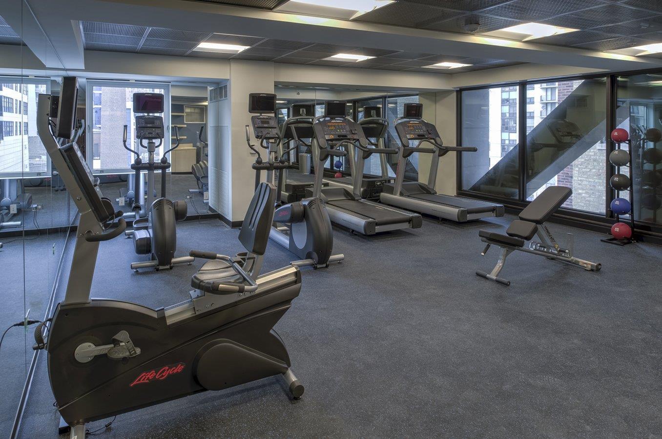 Fitness/ Exercise Room - Godfrey Hotel Chicago