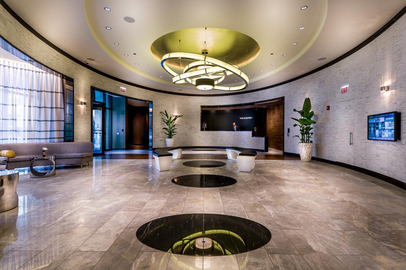 Lobby - Godfrey Hotel Chicago