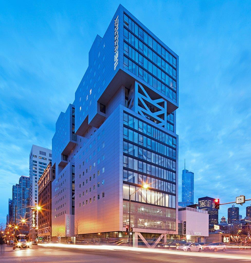 Exterior view - Godfrey Hotel Chicago