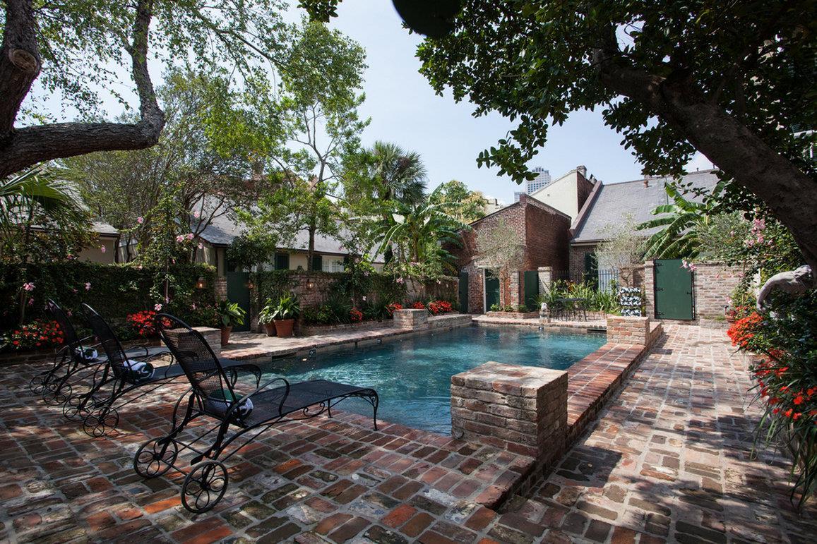 Pool - Audubon Cottages New Orleans