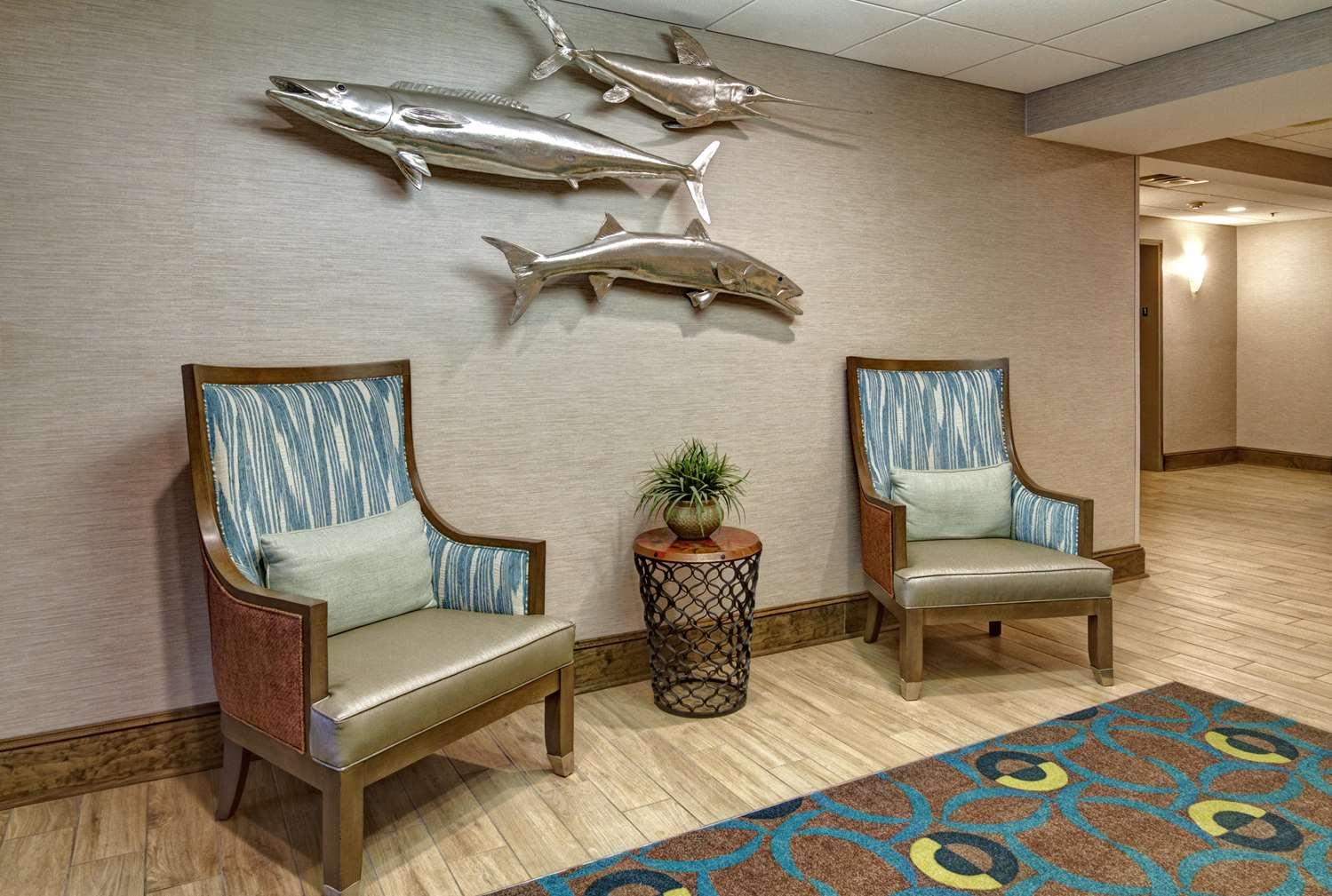Lobby - Hampton Inn Beaufort