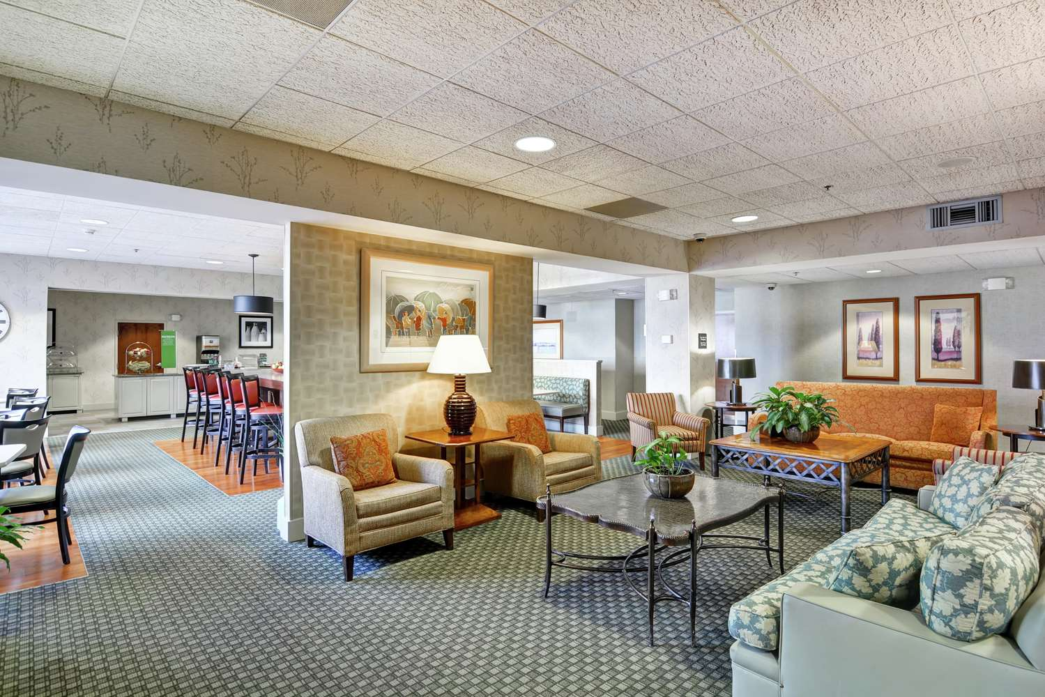 Lobby - Hampton Inn Bloomsburg