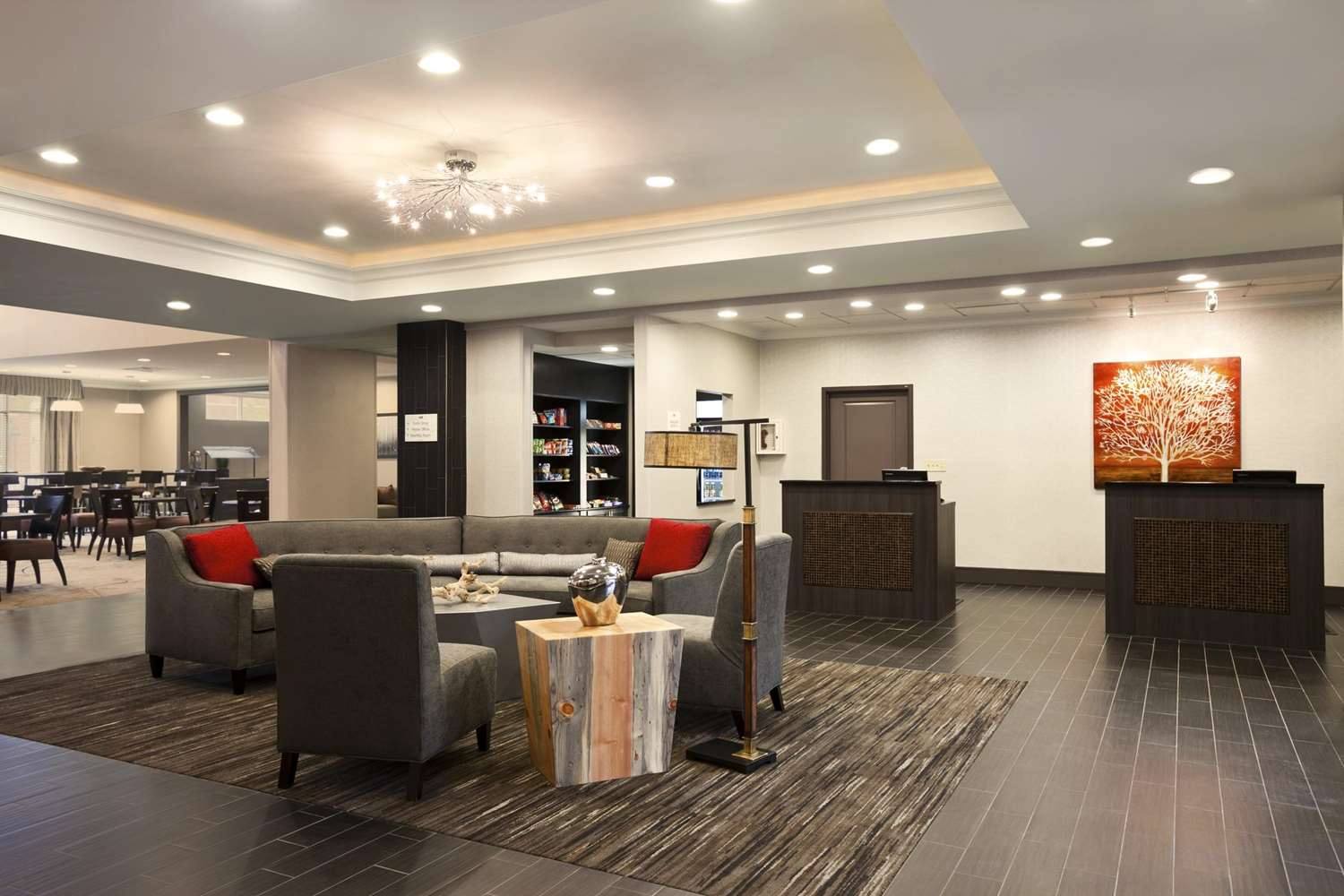 Lobby - Homewood Suites by Hilton OSU Columbus